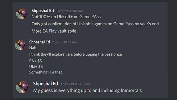 Слух: игры Ubisoft в Game Pass появятся в конце года, но за них придется доплатить