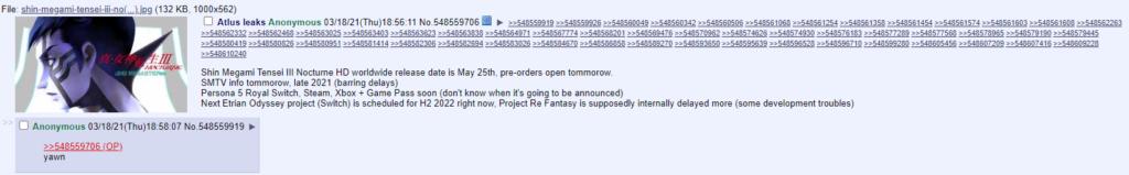 Слух: Persona 5 Royal скоро анонсируют для Xbox, PC и Switch