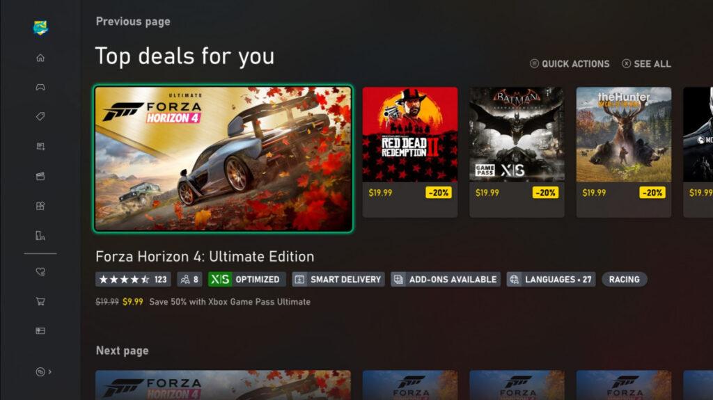 В Microsoft Store теперь можно легко смотреть наличие локализации в игре