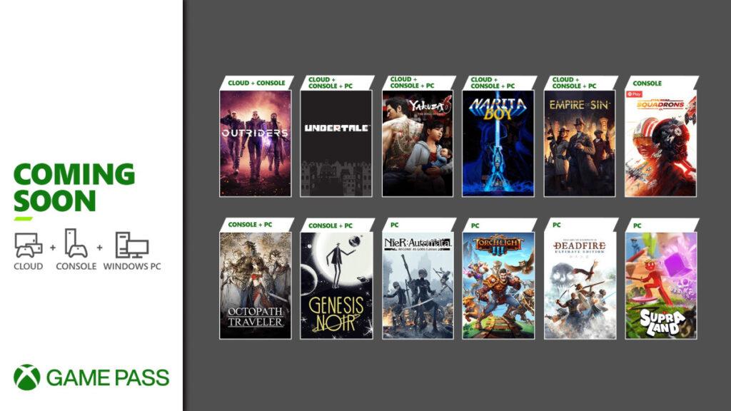 Эти 12 игр пополнят подписку Xbox Game Pass в ближайшие недели