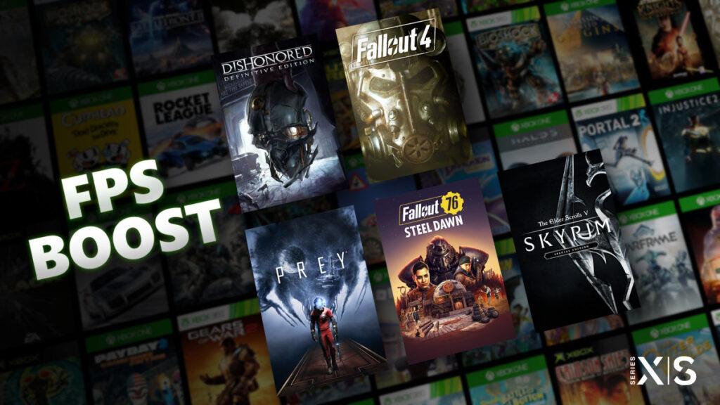 5 игр Bethesda сегодня получат поддержку FPS Boost