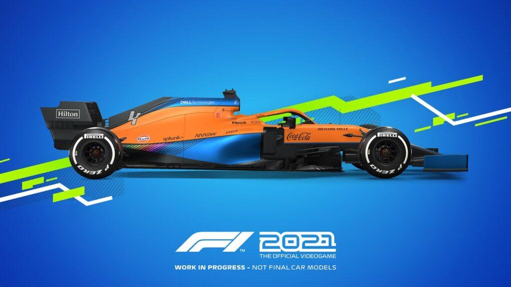 F1 2021 получит 120 FPS на Xbox Series X | S