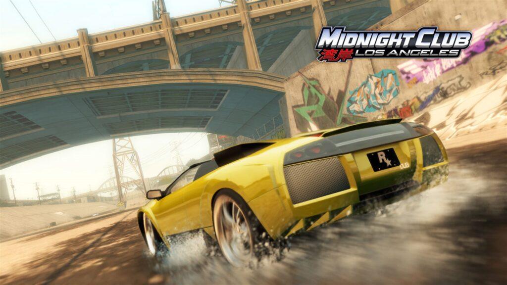 Для Xbox в продажу вернулась игра Midnight Club: Los Angeles