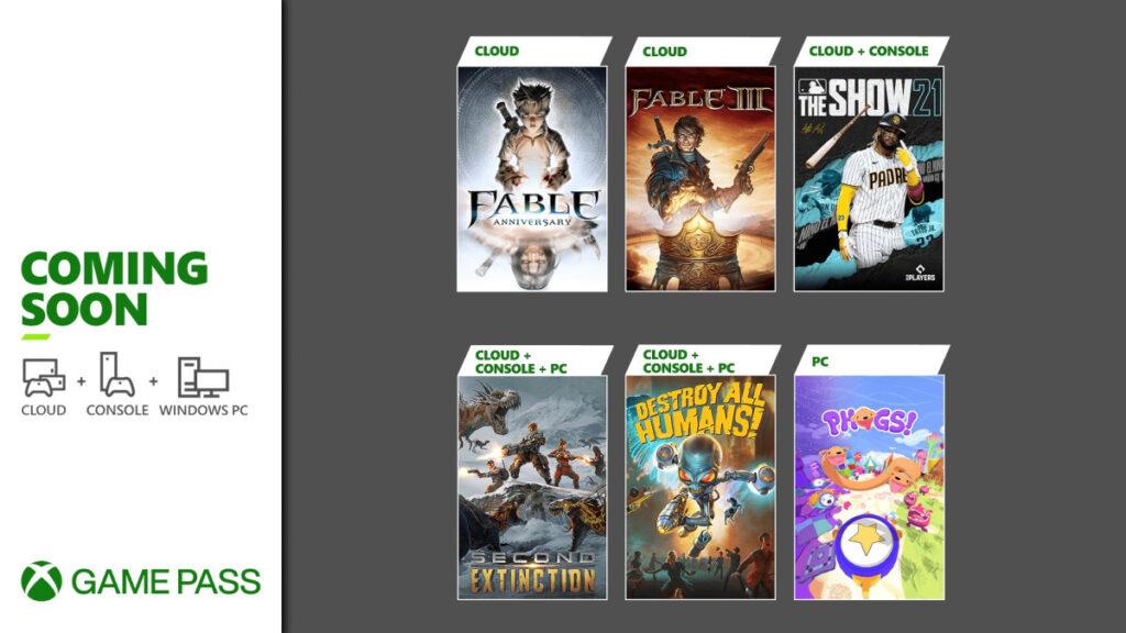 Эти 6 игр добавят в подписку Game Pass до конца апреля