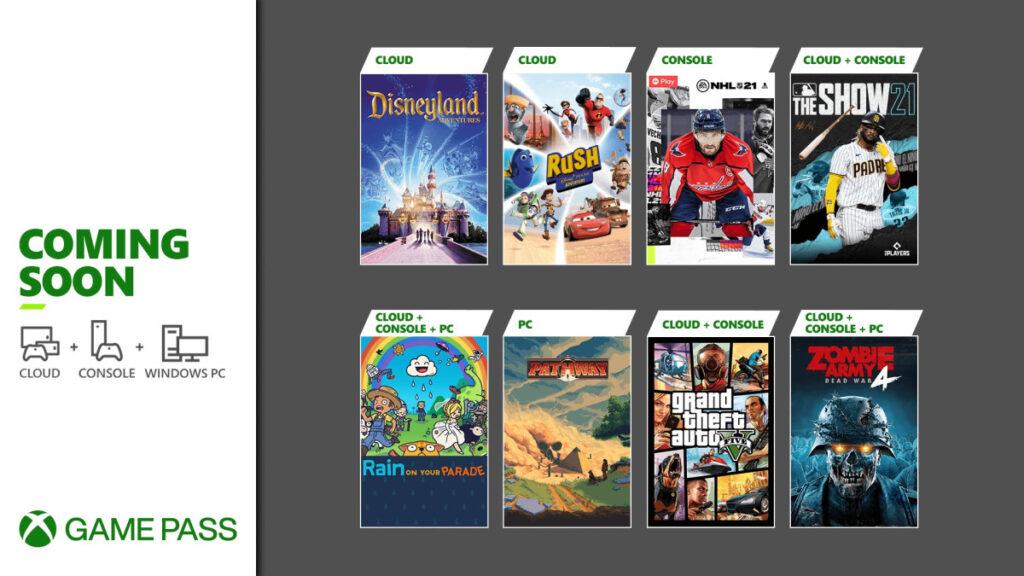Эти 8 игр появятся в подписке Game Pass в первые недели апреля