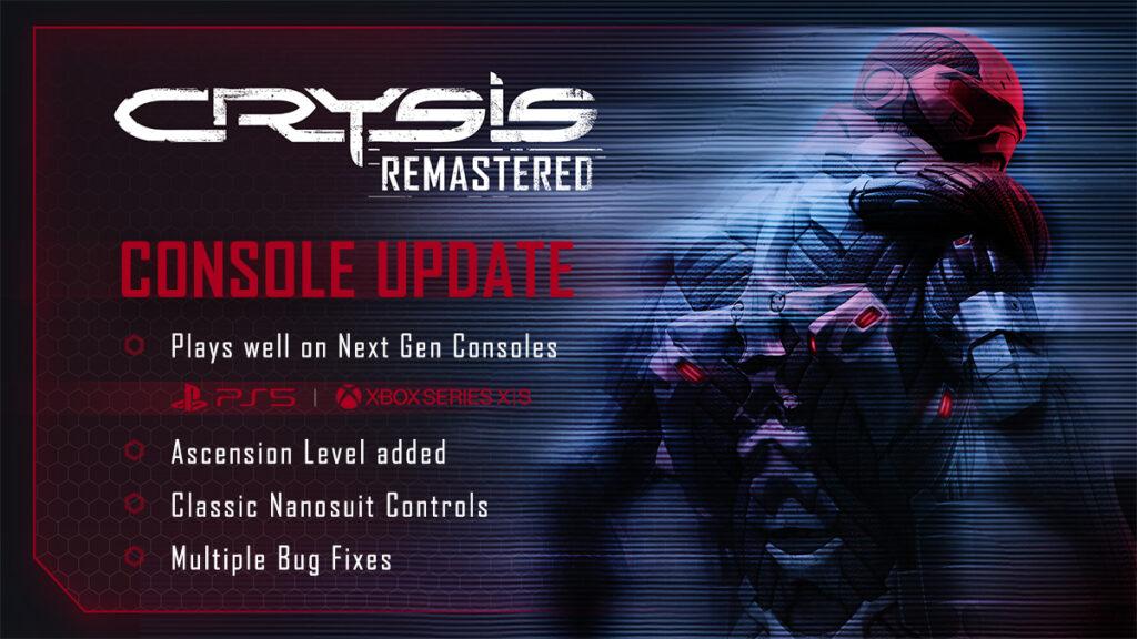 Crysis Remastered обновили до Xbox Series X | S, на обеих приставках по 3 режима