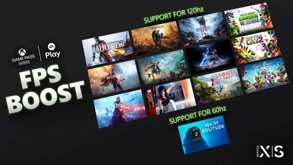 Еще 13 игр получат поддержку FPS Boost на Xbox Series X | S