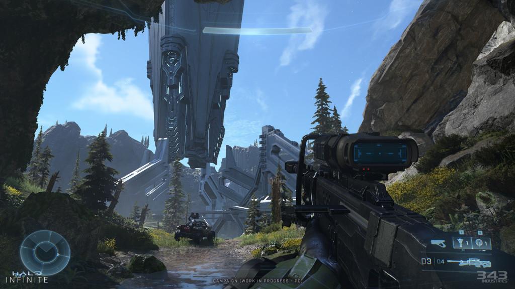 Как будет выглядеть Halo Infinite на сверхшироких мониторах