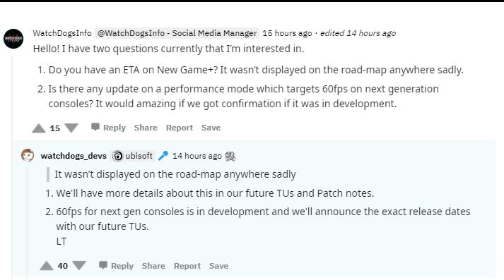 Watch Dogs Legion получит на Xbox Series X режим с 60 FPS