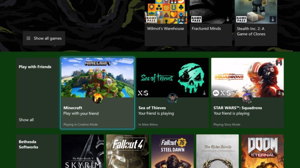 Приложение Game Pass на Xbox получило новую возможность