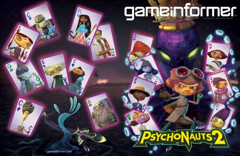 Новый геймплей Psychonauts 2, игра появилась на обложке GameInformer