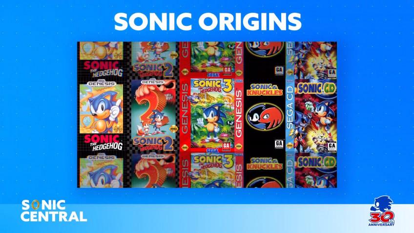 Анонсирован сборник Sonic Origins для Xbox – переиздание классических игр серии