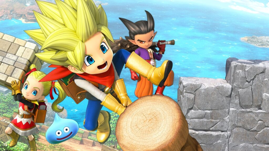 Игра Dragon Quest Builders 2 теперь доступна по подписке Game Pass