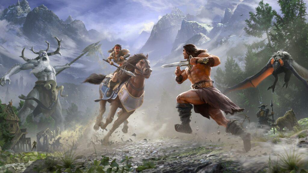 Conan Exiles теперь оптимизирована под Xbox Series X | S и доступна в Game Pass