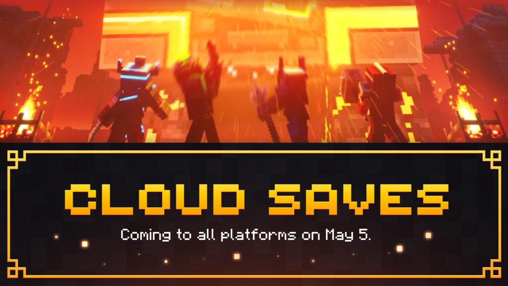 Поддержка облачных сохранений на следующей неделе появится в Minecraft Dungeons