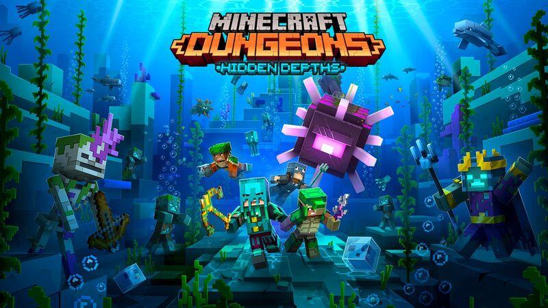Объявлена дата релиза DLC Hidden Depths для Minecraft Dungeons