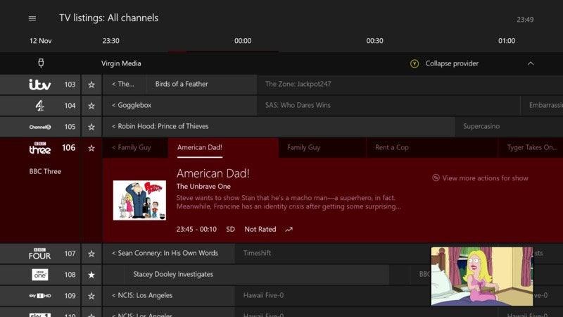 Microsoft прекращает поддержку Xbox OneGuide