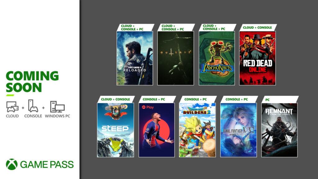 Эти 9 игр пополнят Game Pass в начале мая