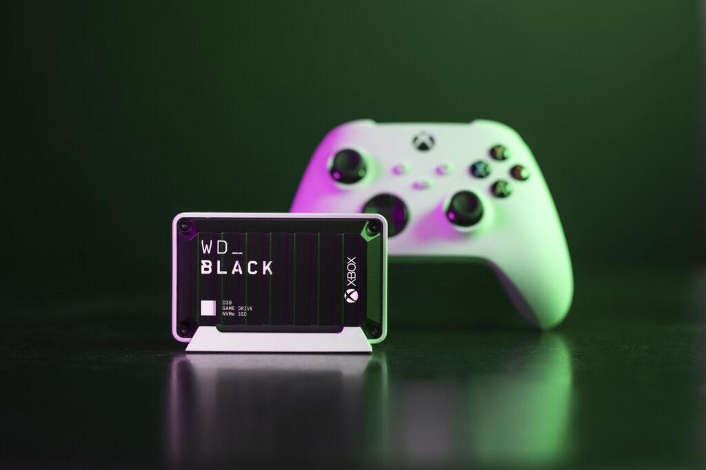 Western Digital анонсировали новые внешние накопители для Xbox