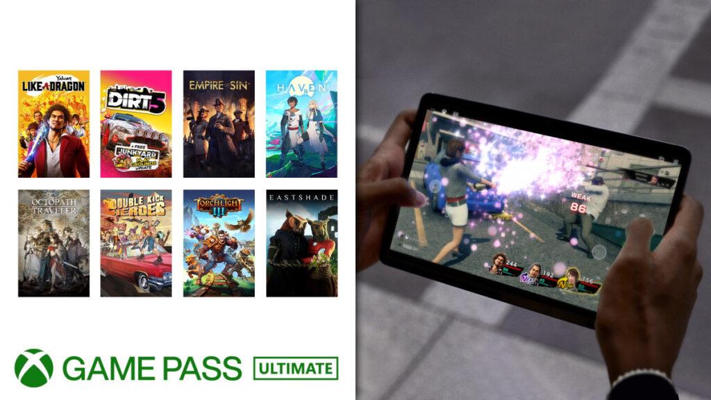 Еще 8 игр из Game Pass получили поддержку сенсорного управления