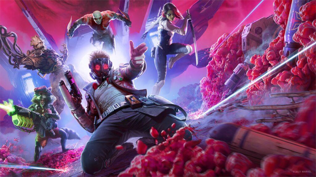 Square Enix анонсировали игру по «Стражам Галактики» - Guardians of the Galaxy
