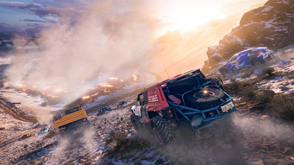 В Forza Horizon 5 будет реализована новая система динамической погоды