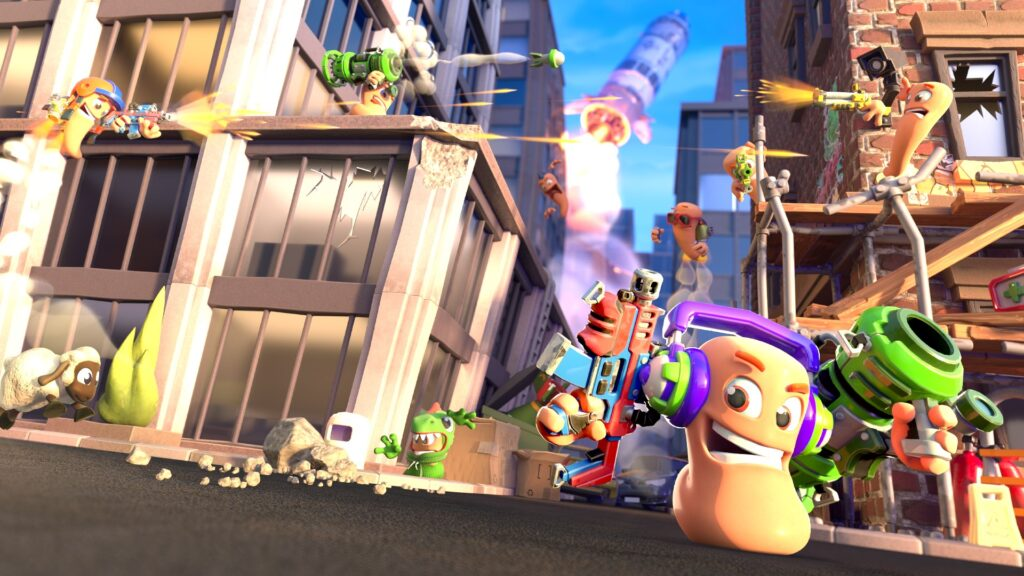 Игра Worms Rumble без предупреждения сразу после релиза попала в Game Pass