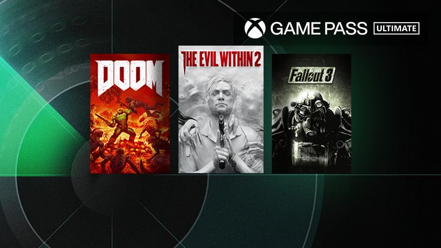 Эти 3 игры Bethesda пополнят Game Pass в ближайшее время