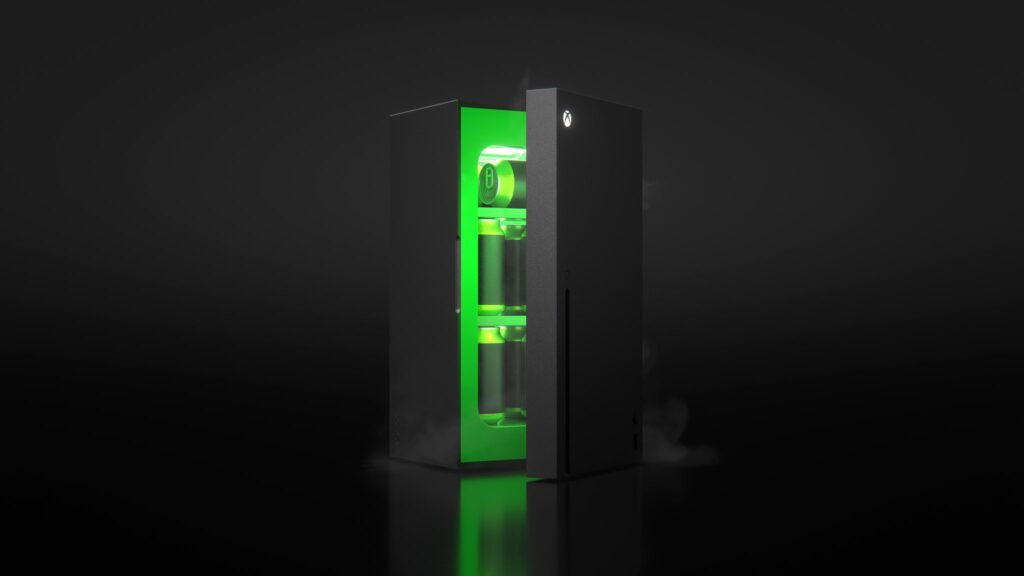 Мини-холодильник Xbox Series X будет продаваться за пределами США