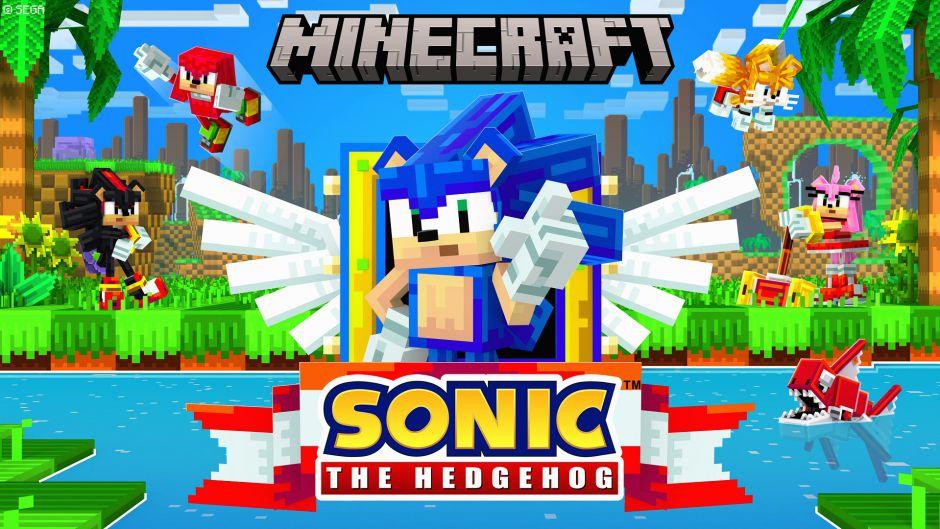 DLC с Соником теперь доступно для Minecraft