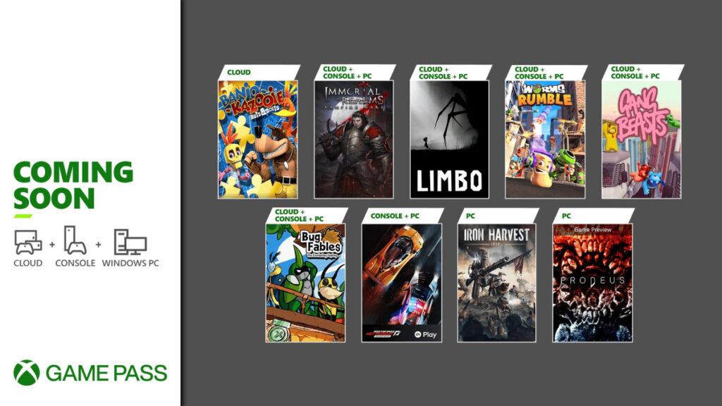 Эти 9 игр пополнят подписку Game Pass в ближайшие дни