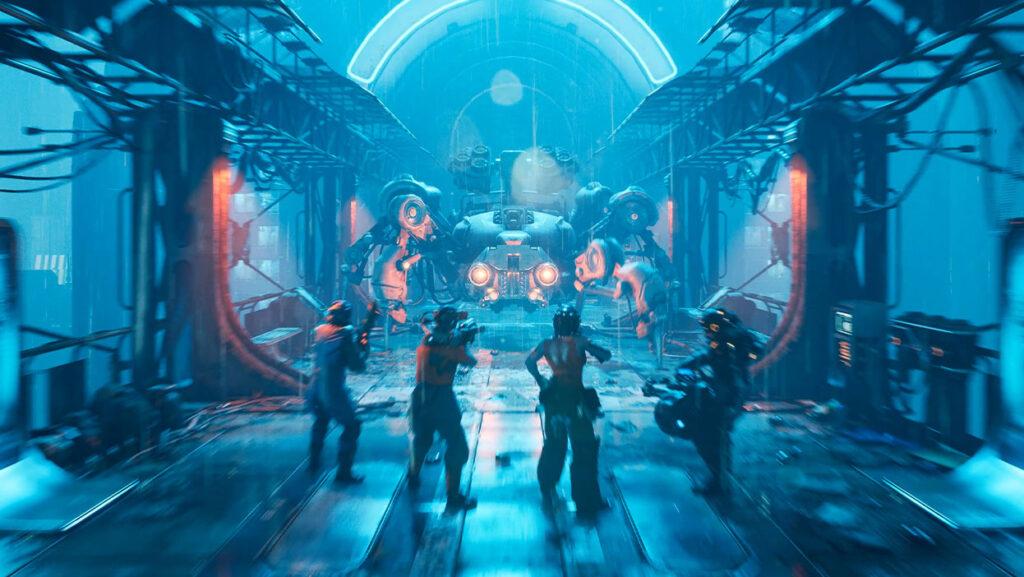Новый геймплей The Ascent на Xbox Series X