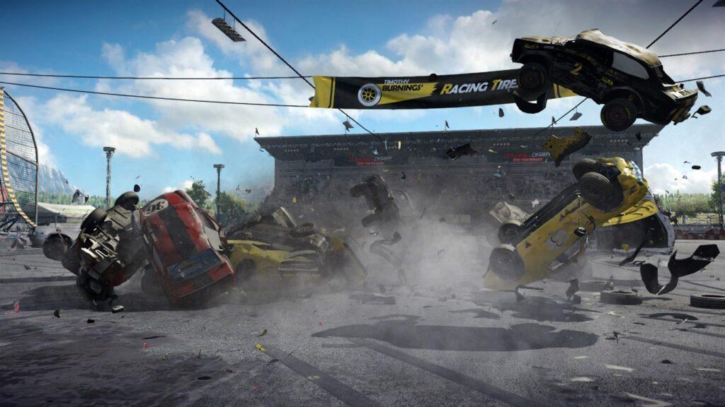Игра Wreckfest получила режим 60 FPS на приставке Xbox Series S.