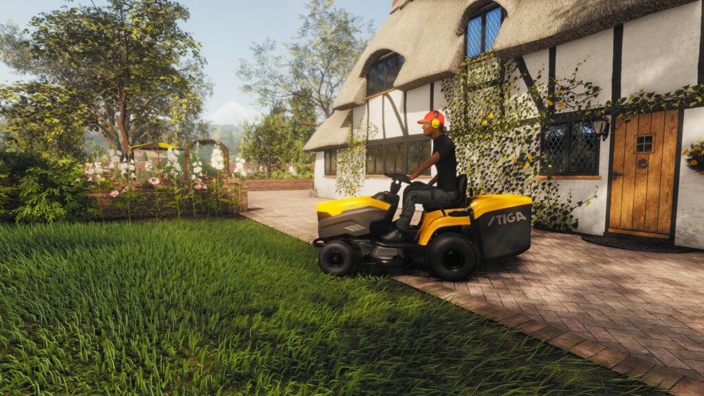 Объявлена дата релиза симулятора стрижки газонов Lawn Mowing Simulator на Xbox Series X | S
