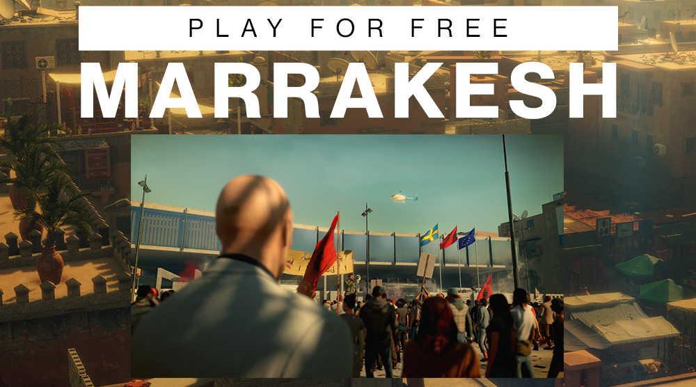 Локация Марракеш будет доступна в бесплатной версии Hitman 3 в ближайшие 2 недели