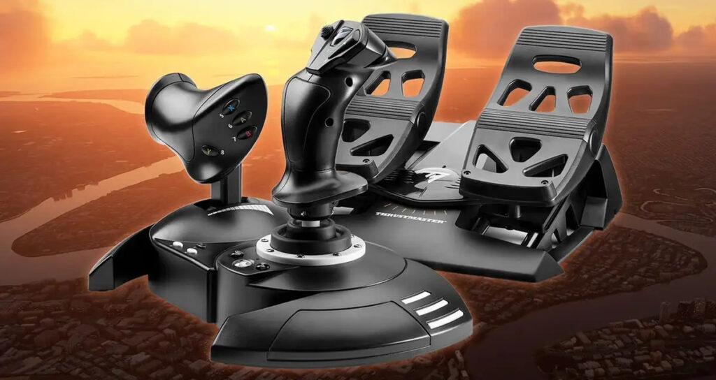 Microsoft представила официальные аксессуары для Microsoft Flight Simulator на Xbox