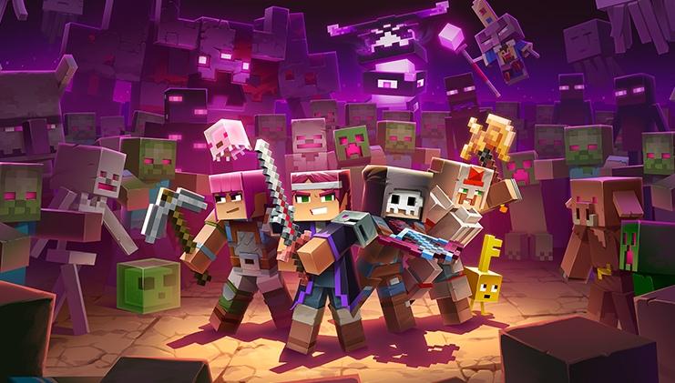 Дополнение Echoing Void для Minecraft Dungeons выйдет 28 июля