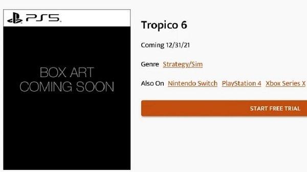Слух: Tropico 6 получит оптимизацию до Xbox Series X   S и Playstation 5