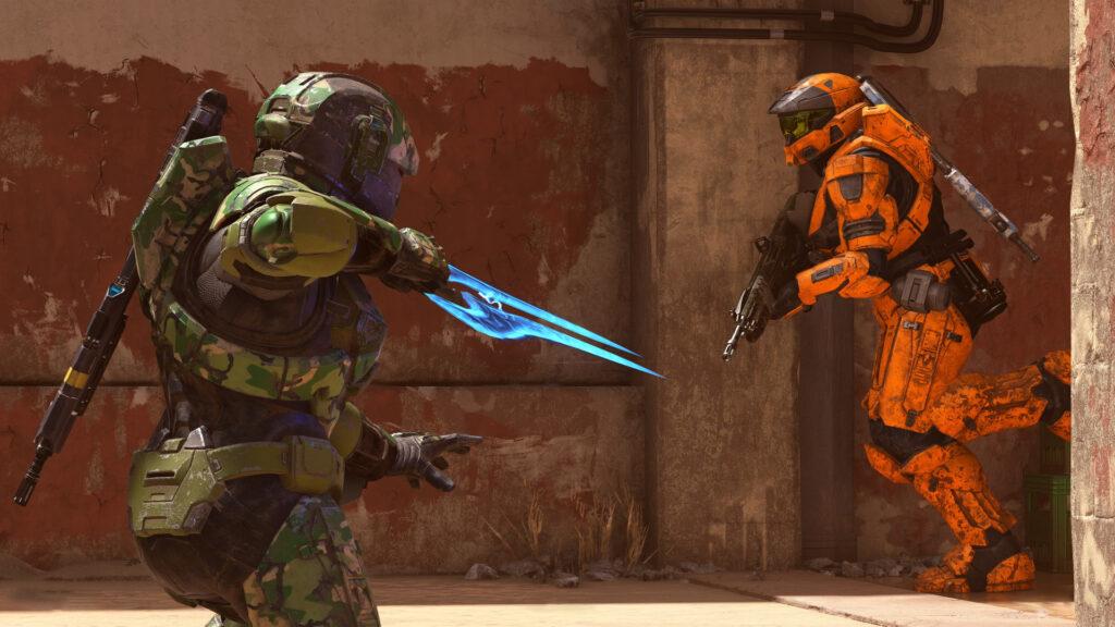 В Halo Infinite не будет анимации убийств врагов в ближнем бою со спины