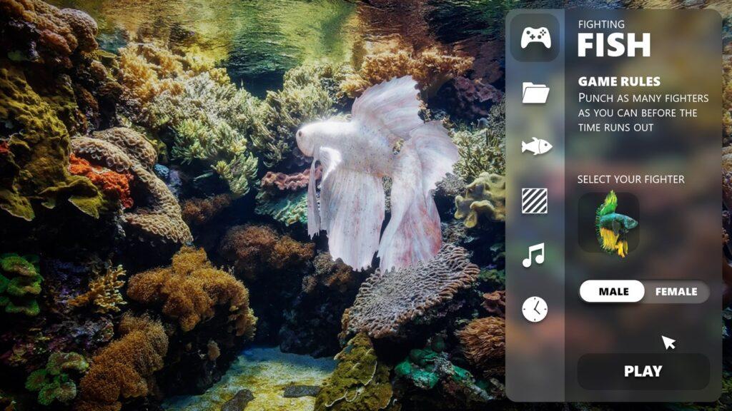 Новое приложение на Xbox позволяет превратить телевизор в виртуальный аквариум