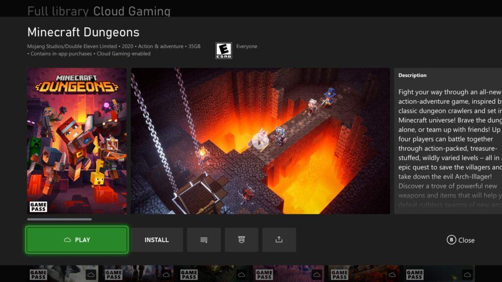 Xbox Cloud Gaming станет доступен на Xbox One и Xbox Series X | S этой осенью