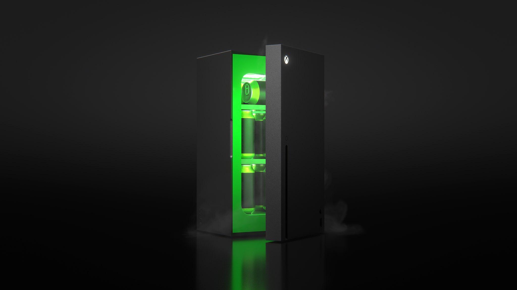 Microsoft вскоре поделится информацией о выпуске мини-холодильника в дизайне Xbox Series X