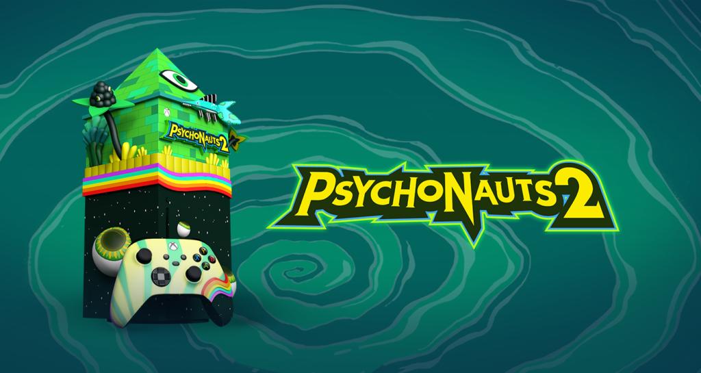 Microsoft показала уникальную приставку Xbox Series X в стиле Psychonauts 2