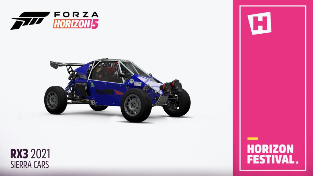 Автомобиль Sierra RX3 2021 анонсирован для Forza Horizon 5
