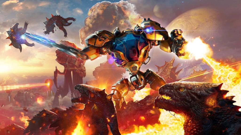 Новый геймплей кампании Riftbreaker – игра будет в Game Pass в день релиза