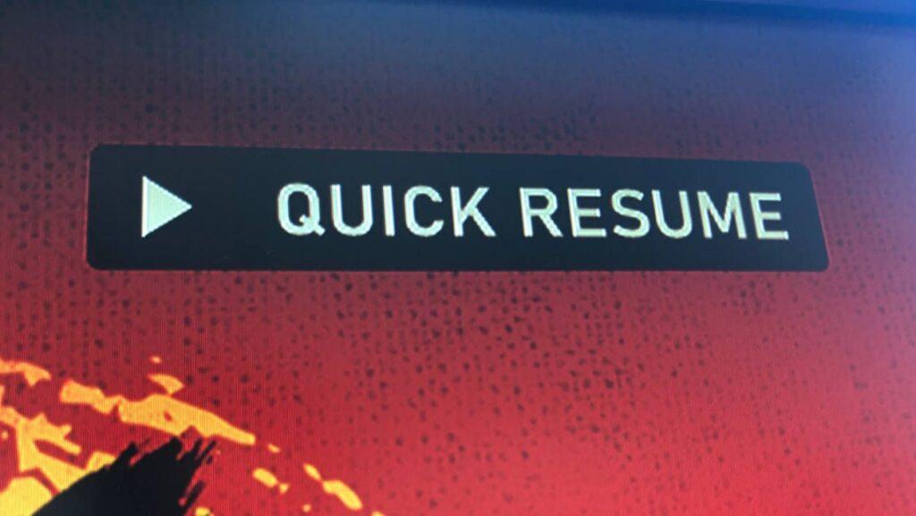 Джейсон Рональд объяснил, почему Quick Resume не всегда доступен в играх после релиза
