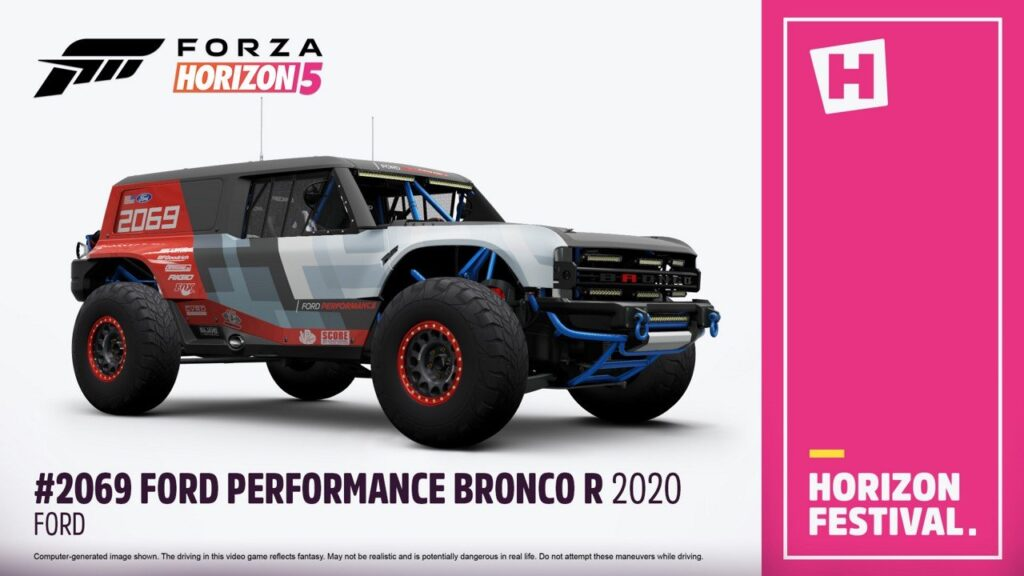 Полный список автомобилей Ford, которые будут в Forza Horizon 5