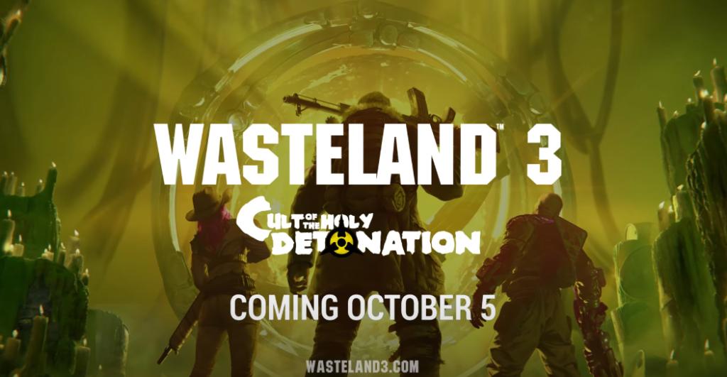 Cult of the Holy Detonation – второе DLC для Wasteland 3, релиз – 5 октября