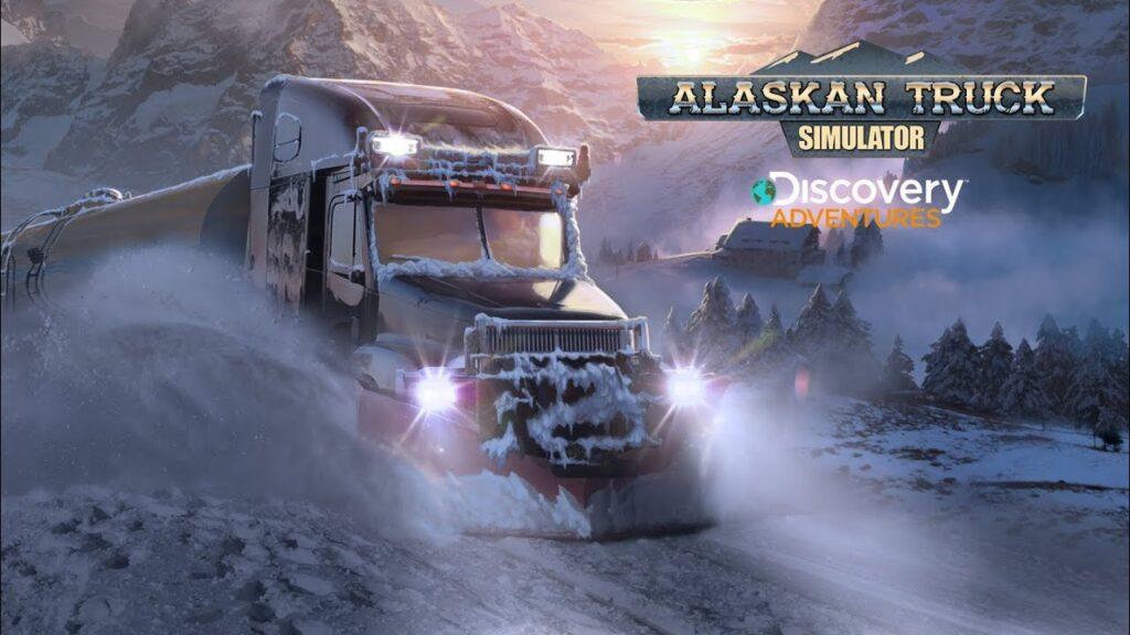 Alaskan Truck Simulator выйдет на Xbox в 2022 году - новый трейлер с геймплеем