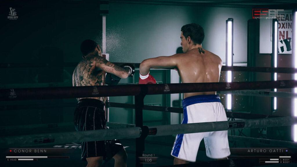 Новый геймплей eSports Boxing Club – максимально реалистичного симулятора бокса
